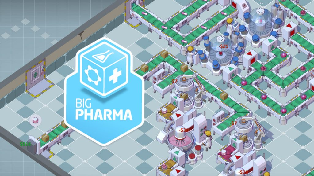 Games @ EGX Rezzed – Big Pharma – by Twice Circled
