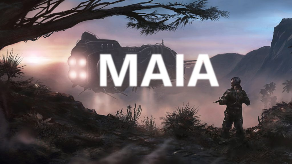 Maia Main Logo Indie Game