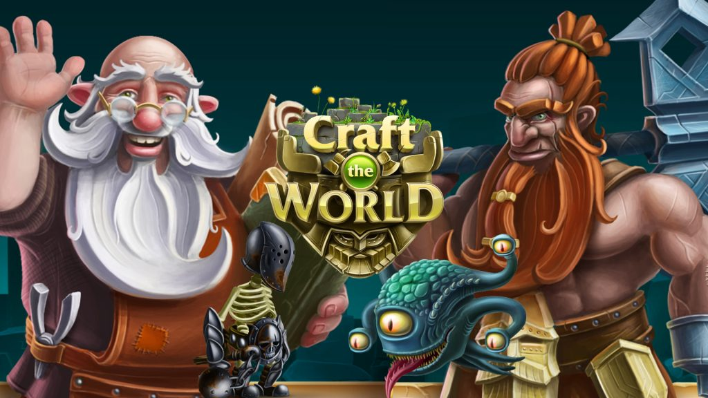 [Indie-ducing] –  Craft The World – Dekovir Entertainment