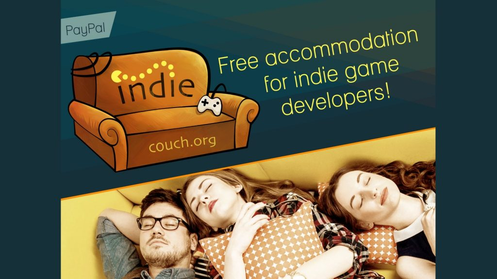 How offering an indiecouch.org could help a fellow indie developer