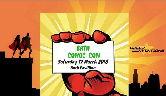 Bath Comic Con – Now open to entries